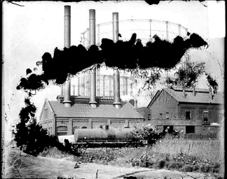 A 1909 Photograph of a Chicago Area Coal Gas Plant