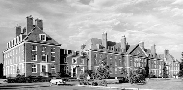 Natural Resources Building circa 1954