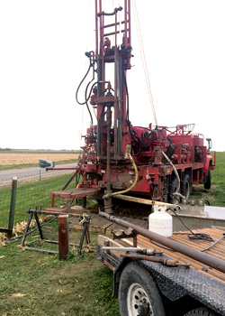 Mahomet Aquifer Drill equipment