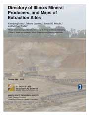Circular 584: Directory of Illinois Mineral Producers, and Maps of Extraction Sites