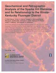 Cover of C588: Geochemical and Petrographic Analysis of the Sparks Hill Diatreme and Its Relationship to the Illinois-Kentucky Fluorspar District