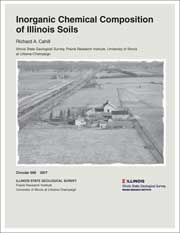 Cover of Circular 590: Inorganic Chemical Composition of Illinois Soils