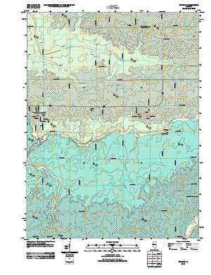 Surficial Geologic Map, Colfax Quadrangle