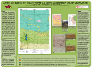 Surficial Geologic Map of the Arrowsmith 7.5 Minute Quadrangle