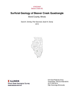 Surficial geology of Beaver Creek Quadrangle, report thumbnail