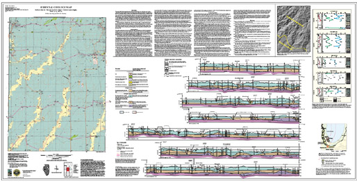 Illinois State Geological Survey Surficial Geology Map Northern