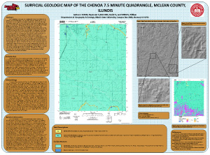 Surficial Geologic Map of the Chenoa 7.5 Minute Quadrangle