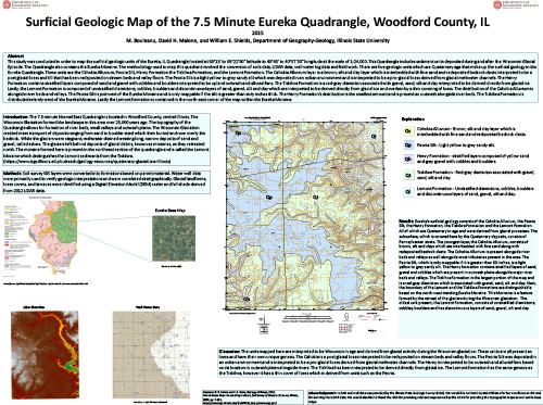 """54"""" x 40"""" sheet, includes map, legend, 3 figures, and descriptive text.  Map is available for download only. This map has not been reviewed by the Illinois State Geological Survey and does not necessarily conform to the usual style and standards for ISGS publications."""