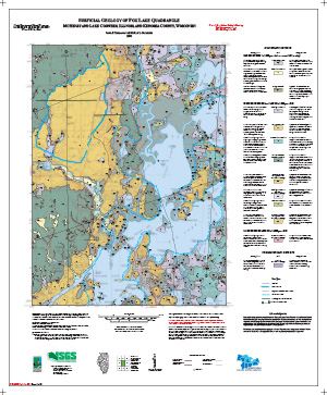 Surficial Geology of Fox Lake Quadrangle