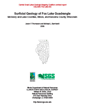 Surficial Geology of Fox Lake Quadrangle Report