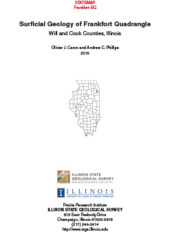 Surficial Geology of Frankfort Quadrangle Report