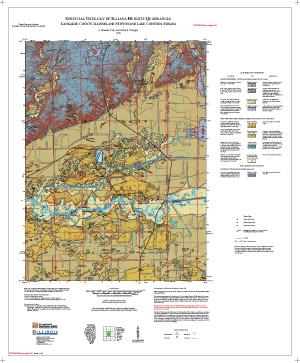 Surficial Geology of Illiana Heights Quadrangle