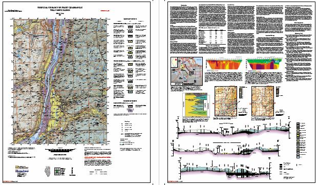 Illinois State Geological Survey Surficial Geology Of Joliet