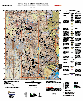 Gibson County Indiana Map.Illinois State Geological Survey Surficial Geology Of Mount Carmel