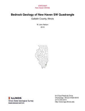 Bedrock geology of New Haven SW Quadrangle, report thumbnail