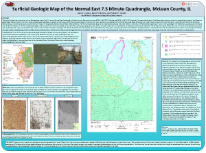 Surficial Geologic Map of the Normal East 7.5 Minute Quadrangle
