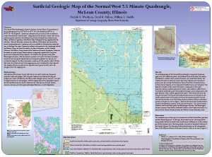 Surficial Geologic Map of the Normal West 7.5 Minute Quadrangle