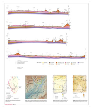 Surficial Geology of Pleasant Mound Quadrangle, map thumbnail, sheet 2