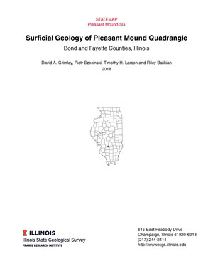 Surficial Geology of Pleasant Mound Quadrangle, report thumbnail
