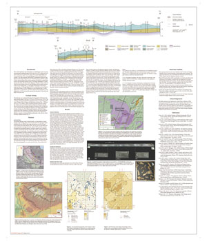 Surficial Geology of Steger Quadrangle, Will and Cook Counties, Illinois, map thumbnail, sheet 2