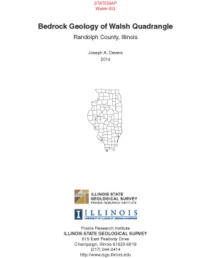 Bedrock Geology of Walsh Quadrangle Report