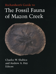 The Fossil Fauna of Mazon Creek front cover