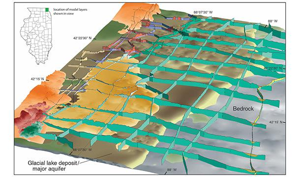 Geological Survey Maps Illinois State Geological Survey Great Lakes Geologic Mapping  Geological Survey Maps