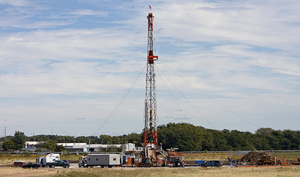 A verification well monitors the storage of CO2 near Decatur, Ill.