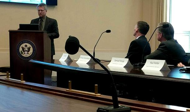 Frailey Advocates for Energy Frontier Research Centers in Congressional Briefing