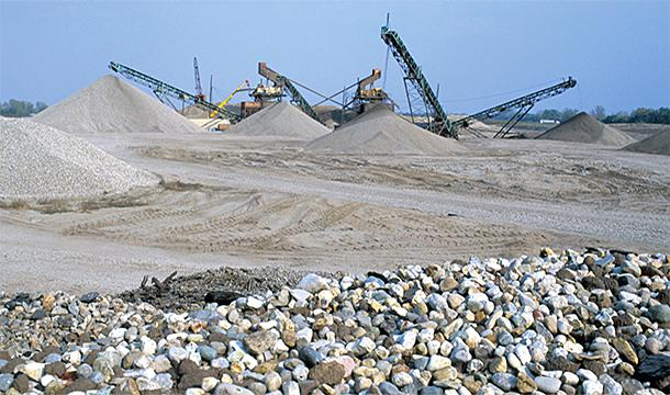 Illinois' crushed stone quarries provide essential materials for building transportation, residential, and commercial infrastructure