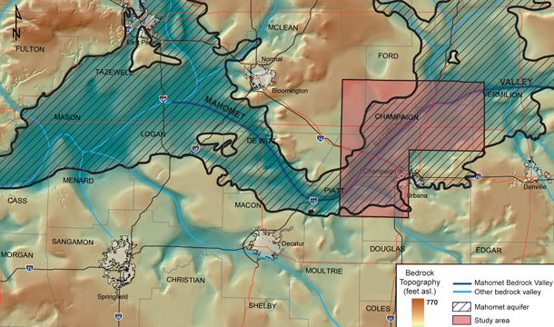 Geology of the Mahomet Aquifer